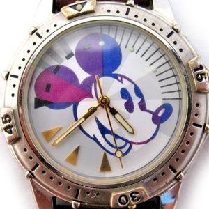 Disney Store Mickey Mouse Mens Wristwatch Watch